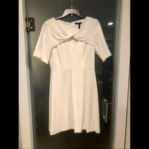 BCBG Winter White Dress